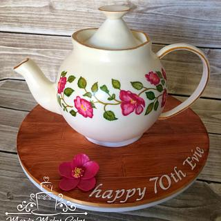 Humble Tea Pot Cake