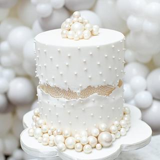Pearlencia - Cake by Elizabeth's Cake Emporium