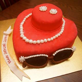 Queen of gems and the gem of Queens' - Cake by Sushma Rajan- Cake Affairs