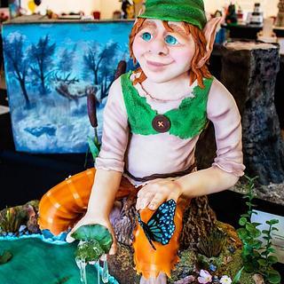 Elf  - Cake by Veronikacakemadar