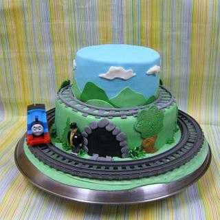 Thomas - Cake by Wanda