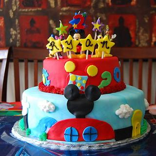 Mickey Mouse Clubhouse - Cake by CakesbyMayra