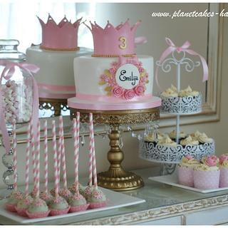 Little Princess Sweet Table