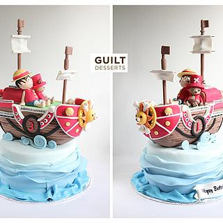 One Piece Ship Cake