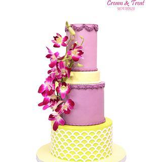 The magic mauve - Cake by Joyeeta lahiri