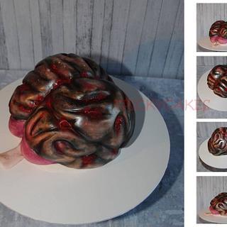 Brain cake.  - Cake by Trickycakes