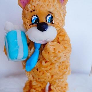 little bear - Cake by Evgenia