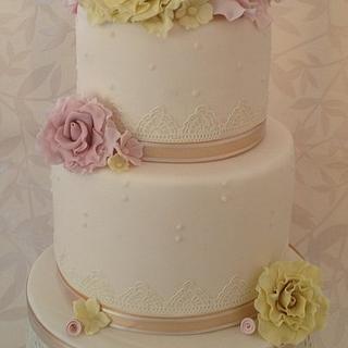 Vintage Cake Lace