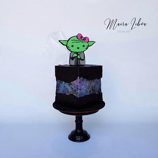 Kitty Yoda - Cake by Maira Liboa
