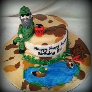 Duck Dynasty Birthday Cake - Cake by Angel Rushing