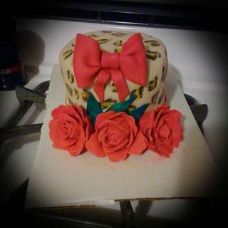 Sassy girl cake