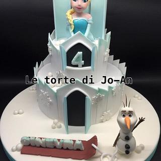 Frozen castle cake - Cake by Annunziata Cipullo