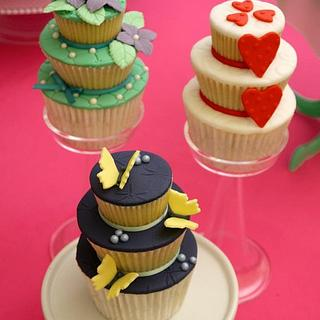 Tiered Cupcakes!