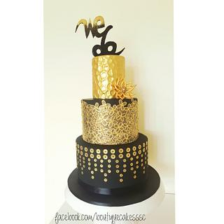 """""""We do it again"""" - wedding cake - Cake by DDelev"""