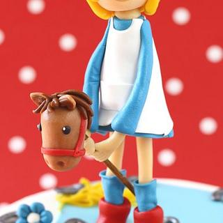 Horse cake!! - Cake by leonietje
