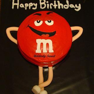 Red M & M