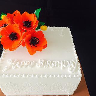 A birthday cake - Cake by Cakegenie