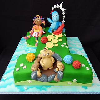 1 In The Night Garden Cake