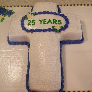 Minister Appreciation Cake - Cake by Judy Remaly