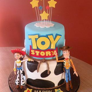 Toy Story - Woody & Jessie