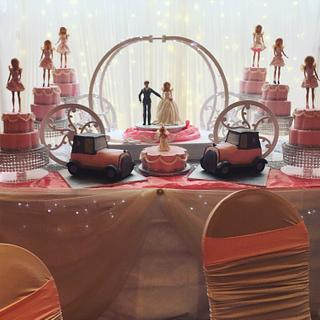 Traveler wedding  - Cake by Shirley Jones