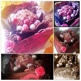 Chocolate raspberry heaven