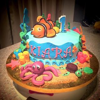Nemo Cake..