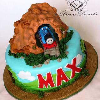 Thomas The Train Cake - Cake by Dana Danila