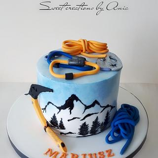 climbing cake