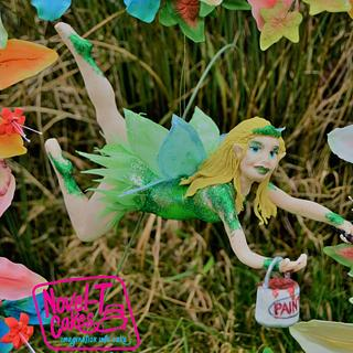 Flora flower fairy - Spring Fairy Tale Collaboration