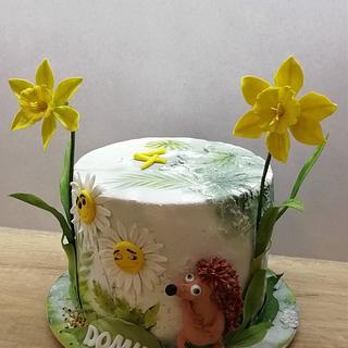 Flowers birthday  - Cake by babkaKatka