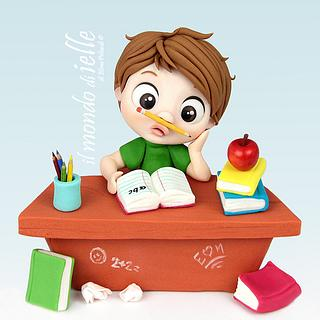Back to School - Cake by il mondo di ielle