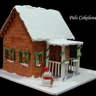 Winter Wonderland - Cake by Pals Cakeland by Pallavi