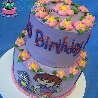 Dora and Boots - Cake by Special Occasions - Cakes, Etc