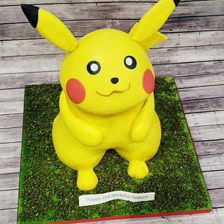 3D Pikachu Cake - Cake by Cakes By Julie