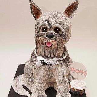 cake dog - Cake by Beula Cakes