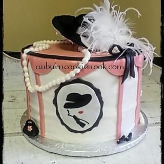 Hat Box Cake - Cake by Cookie Nook