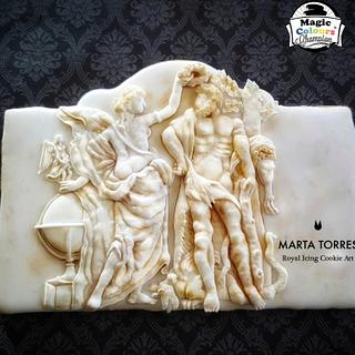 Hercules..... my sweet base relieve for Greco Roman - An International Cake  Challenge