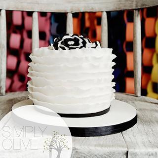 ruffles cake - Cake by Reni Hendra