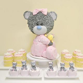 Torta Osita Bebe - Cake by Xelene Atelier