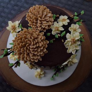 Buttercream  - Cake by Deepa Pathmanathan