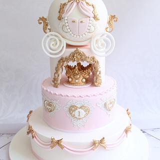 Princess Carriage cake  - Cake by Dolce Dita
