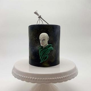 Lord Voldemort Birthday Cake