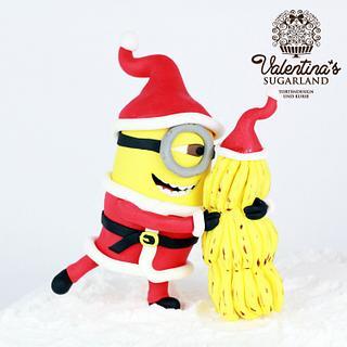 Tutorial Christmas Minion with Banana Tree