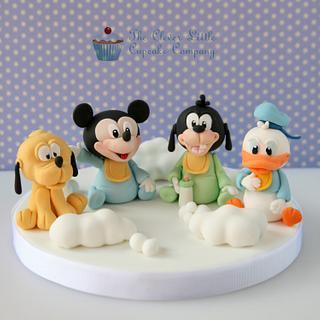 Baby Disney Christening Cake Topper