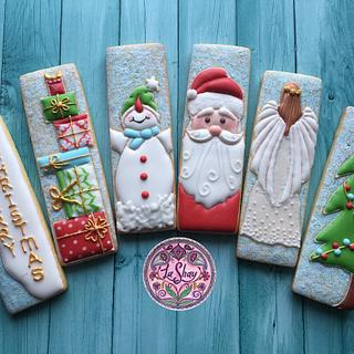 Christmas Cookie Sticks