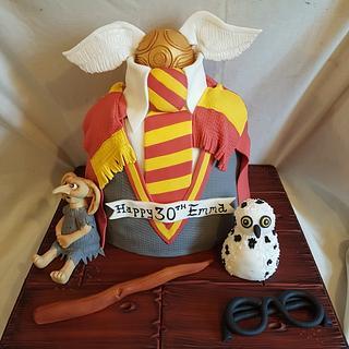 Harry potter cake - Cake by joe duff