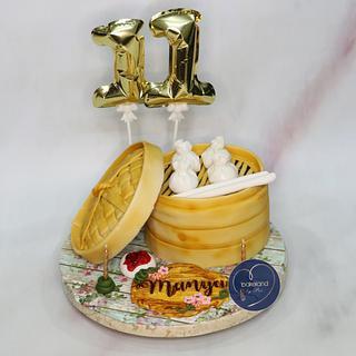 Momos cake
