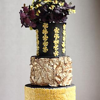 WEDDING CAKE FOR THE LOVE OF TEXTURES