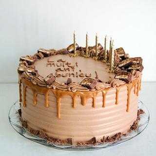 Snicker's Cake